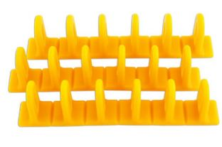 Power Tec 92349 Yellow Multipads 6x50 Pack of 3